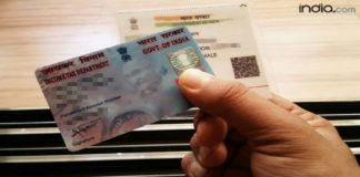 PAN Card Without Adhaar Link
