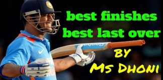 Match Finisher Dhoni
